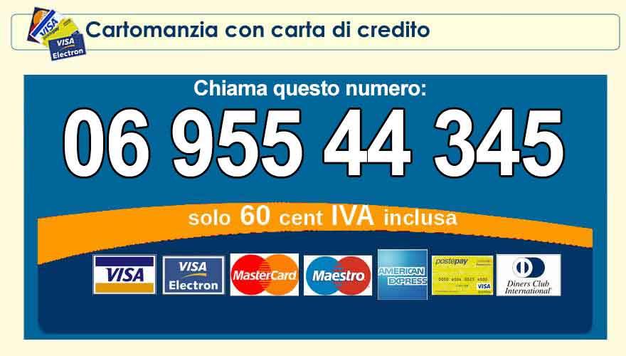 Cartomanzia con carta di credito