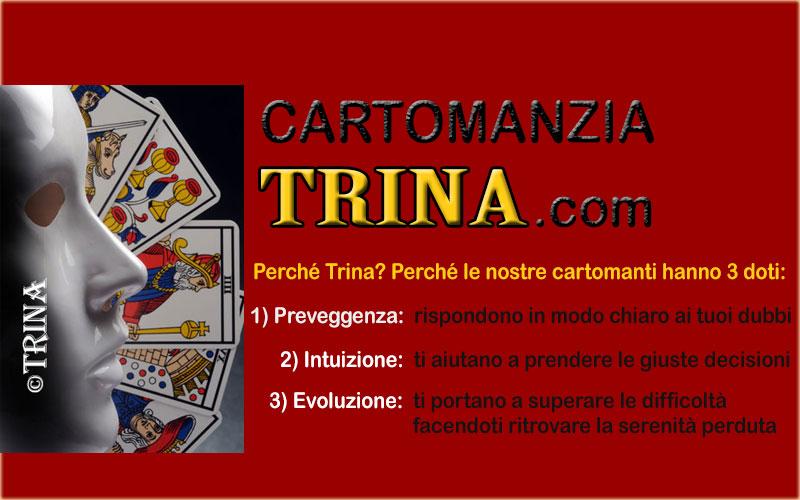 Le 3 doti delle cartomanti di Trina
